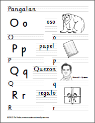 O to R