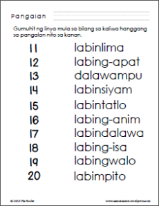 posted in filipino worksheets preschool worksheets tagged bilang ...