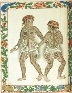 Tattooed Visayans