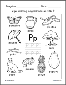 alpabetong Filipino worksheets | Samut-samot