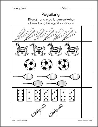 Worksheet For Grade 1 In Filipino : Preschool Worksheets Samut samot Page 2