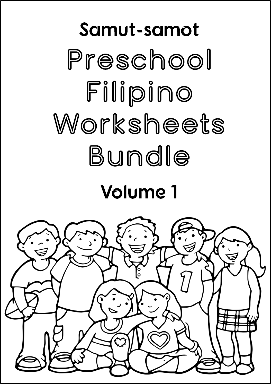 preschool filipino worksheets bundle vol  1  u2013 joel reyes noche