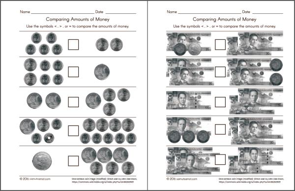 philippine money chart and worksheets samut samot Henry and Mudge Retell free henry and mudge clipart