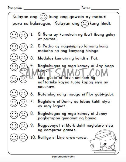 Direct And Inverse Variation Worksheet Answers Pagbasa Sa Filipino  Samutsamot Worksheets On Rocks And Minerals with Kindness Worksheets For Kids Excel Ang Batang Malusog Part  Biff And Chip Worksheets Excel