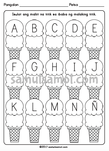 Samut Samot Free Printable Worksheets For Filipino Kids